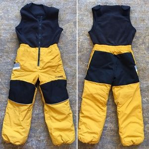 Columbia Yellow Ski Bib (6/7)